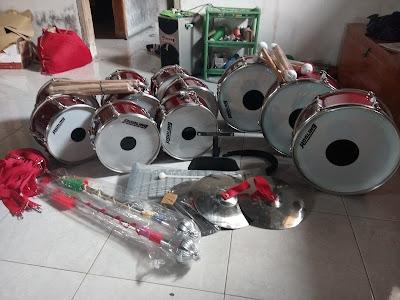 jual alat drumband bagus murah, alat musik dramben 085227274249 dari rakhma konveksi