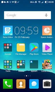 Cusrom Lewa OS For Advan i4D - Update Link
