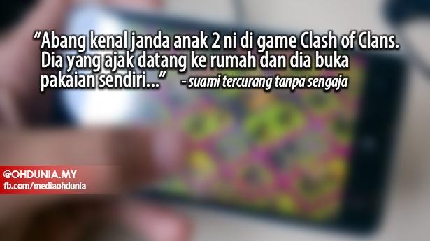 """Abang Dah Terlanjur Dengan Guru Tadika Janda Anak 2 Tu.."""