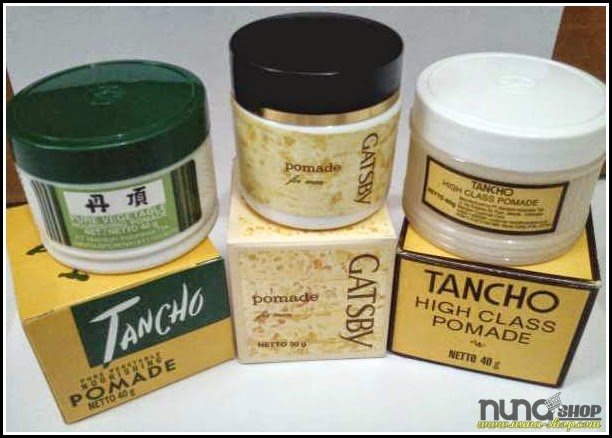 Gatsby Pomade dan Tancho Pure Vegetable & High Class