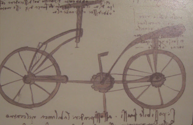 inventos, Da Vinci, bicicleta