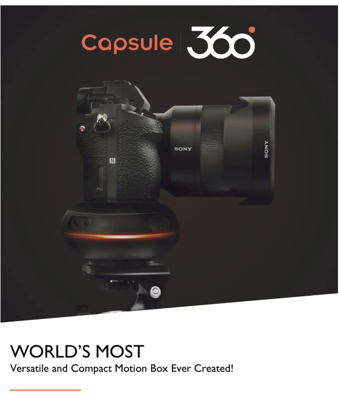 Capsule360: World's most versatile motion box ever created!
