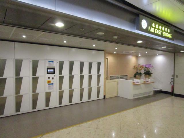 西九龍駅 コインロッカー