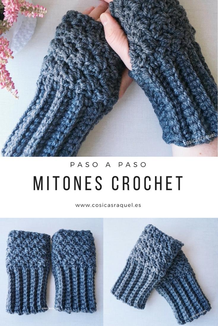 cosicasraquel: Mitones Crochet