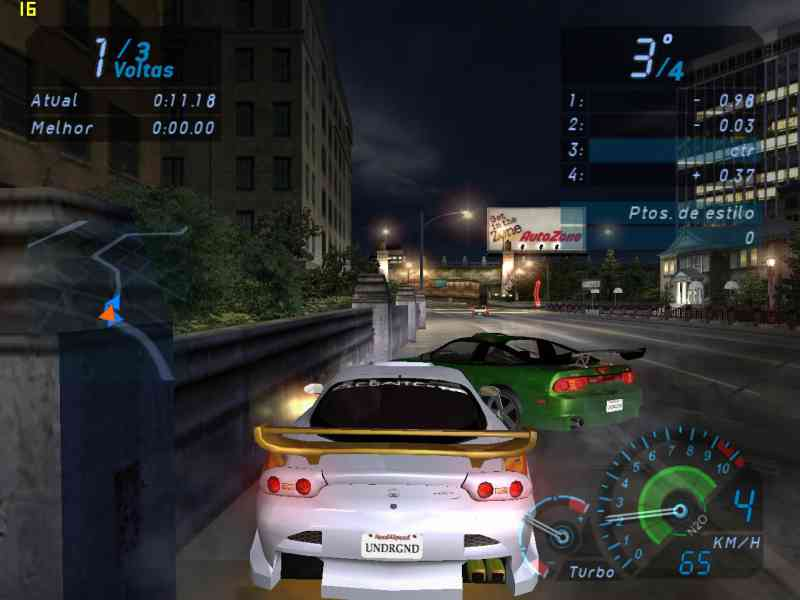 Need For Speed Underground 1 Game Download Free For PC Full