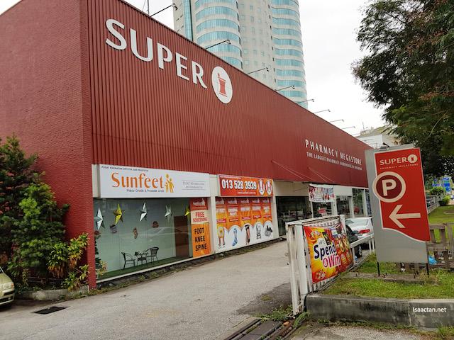 Located inside Super Pharmacy Megastore PJ