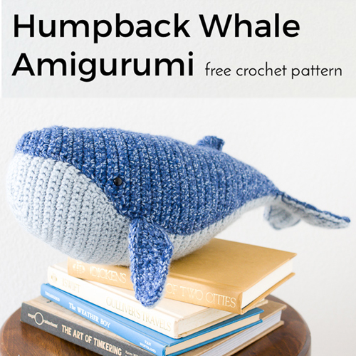 Baby Humpback Whale - Free Pattern