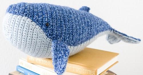 Crochet Humpback Whale Amigurumi Free Pattern - #Amigurumi; Toy ... | 262x500