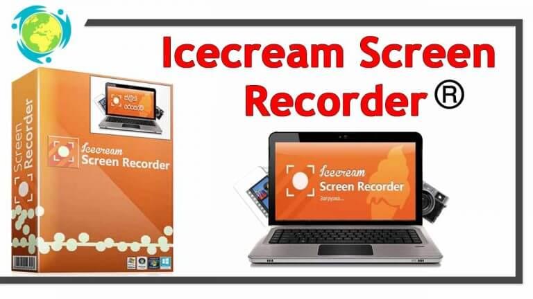 برنامج تسجيل الفديو آيس كريم سكرين ريكوردر Icecream Screen Recorder