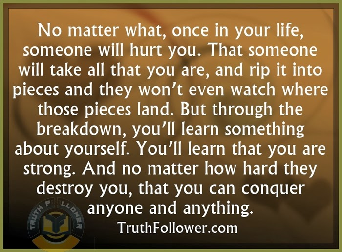 Truth Follower Life Lesson Quotes