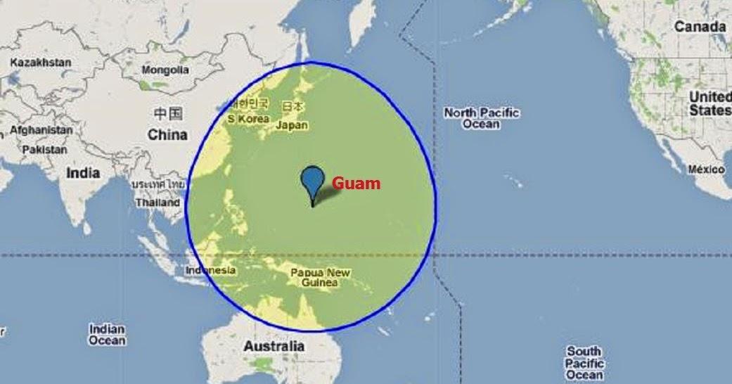 Resultado de imagen para mapa de la isla de guam