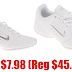 Nike Sideline III Insert Girls' Cheerleading Shoes $7.98 (Reg $45.99) + Free Shipping & Free Return Shipping On All Orders - Sizes 5.5, 6, 6.5, 7, 7.5