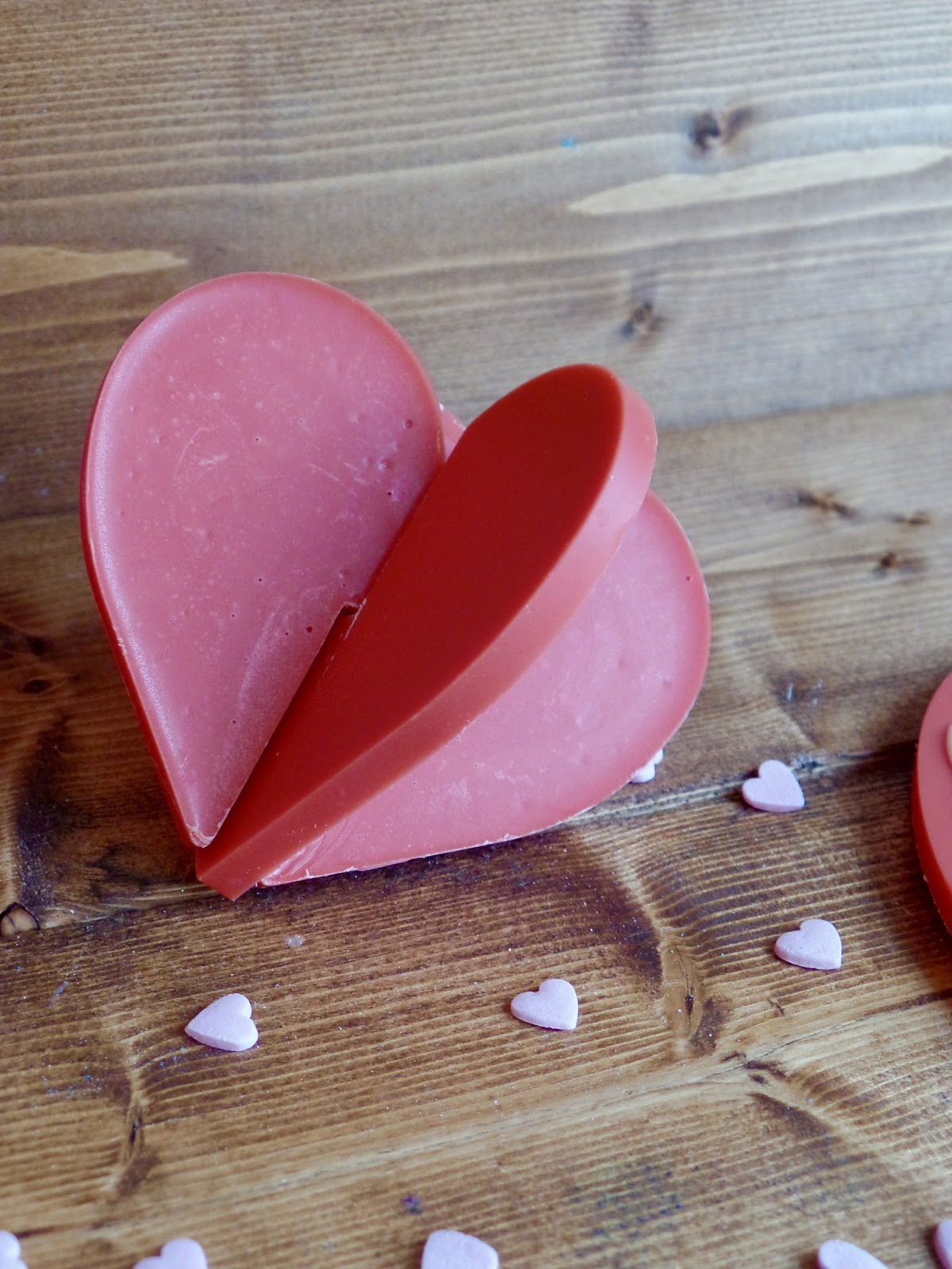 Valentine's Day 3D Chocolate Hearts