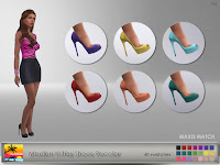 Madlen Kritias Shoes Recolor - Maxis Match