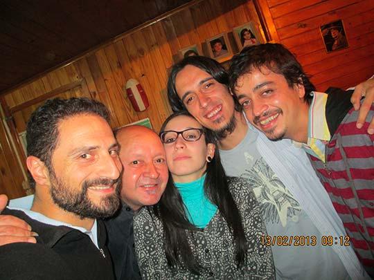 Con Julio Leite, Alejandro Pinto Y daniel Layseca