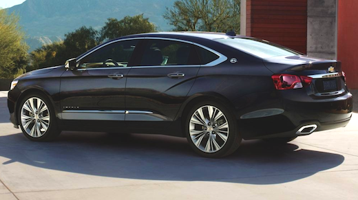 2019 Chevrolet Impala Release Date
