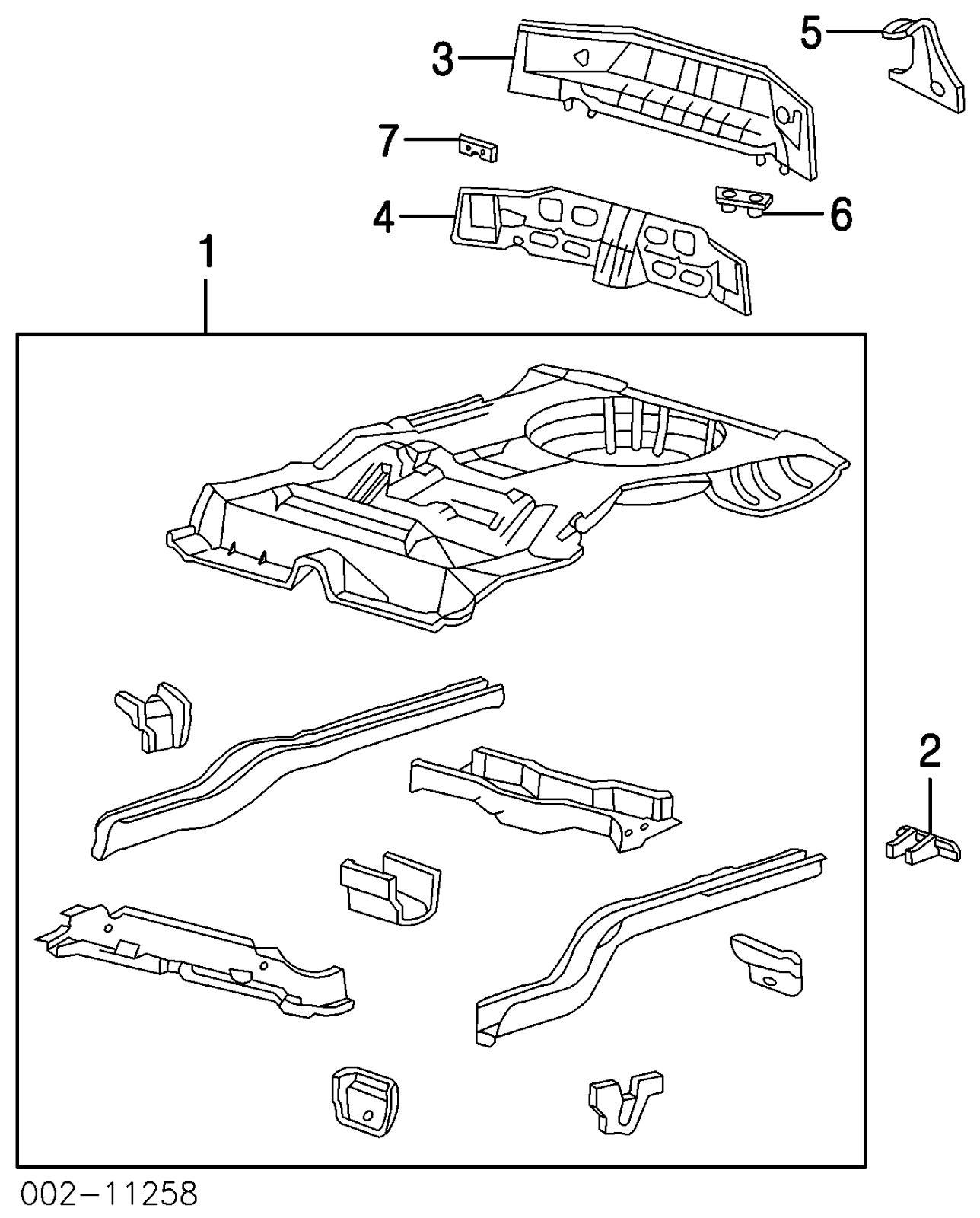 Ford Taurus Rear Body