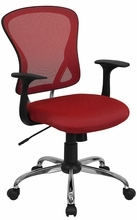 Flash Furniture Red Office Chairs