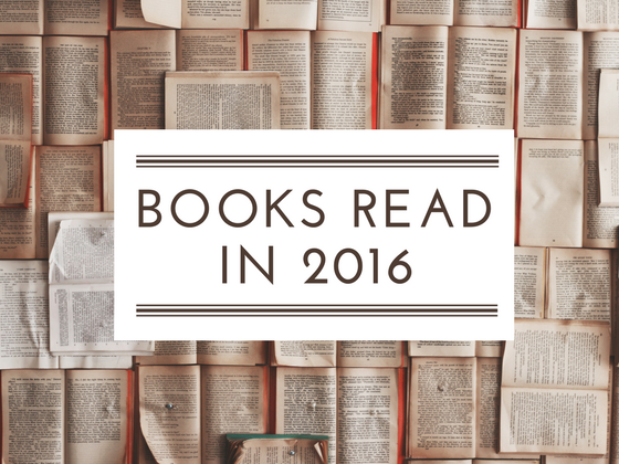 Books read in 2016