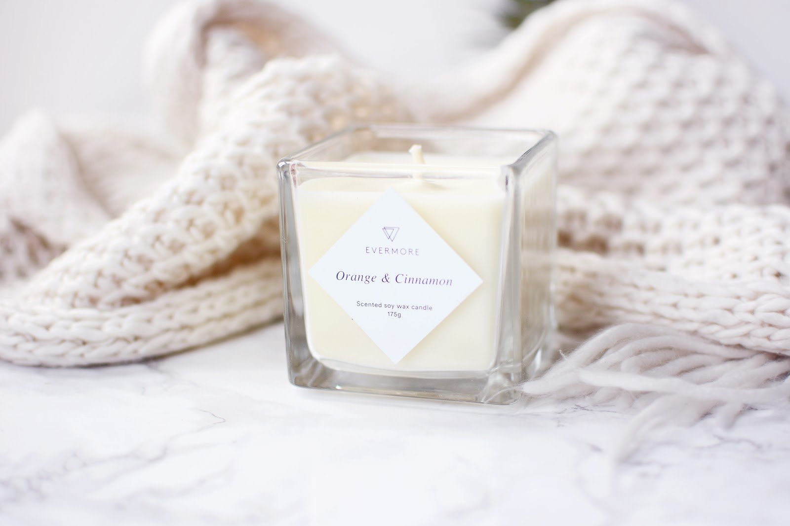 Orange & Cinnamon Soy Wax Candle