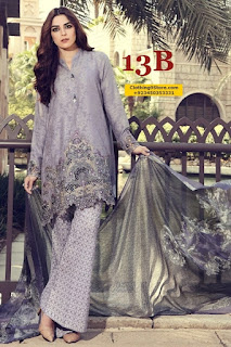 MARIAB Summer Lawn Collection 2017-18