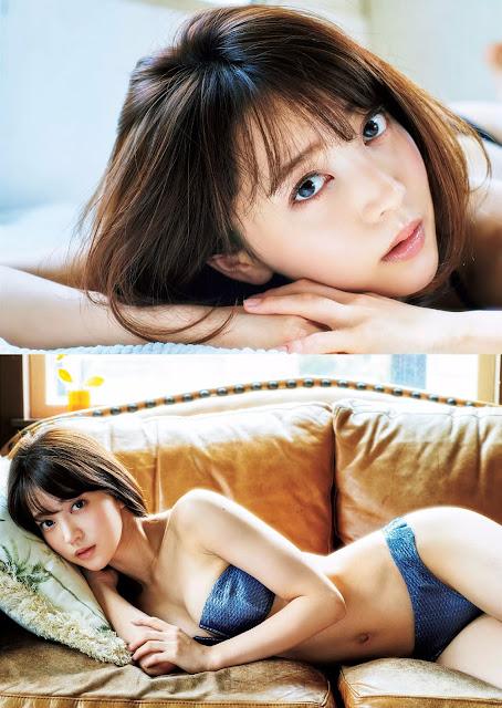 麻亜里 Maari Weekly Playboy May 2016 Photos 2