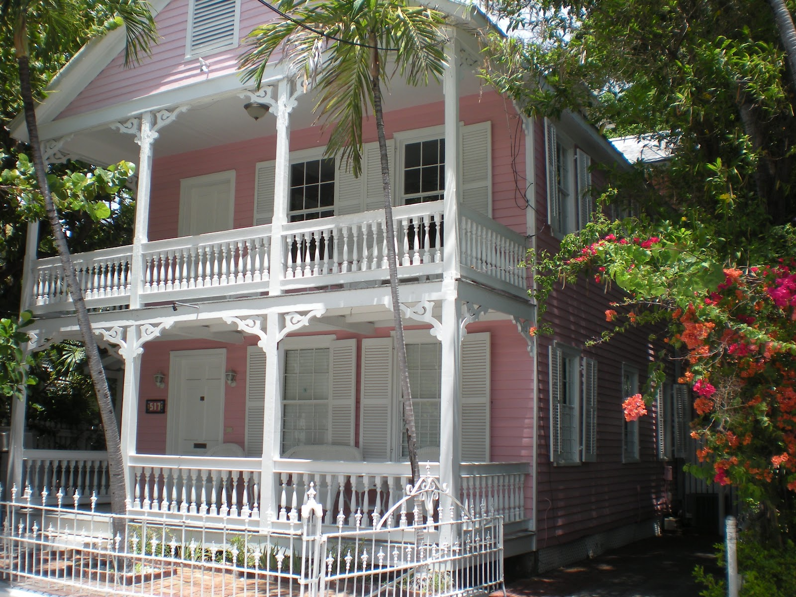Chocolate Crafts and Bears Oh My Pink SaturdayKey West Gingerbread House