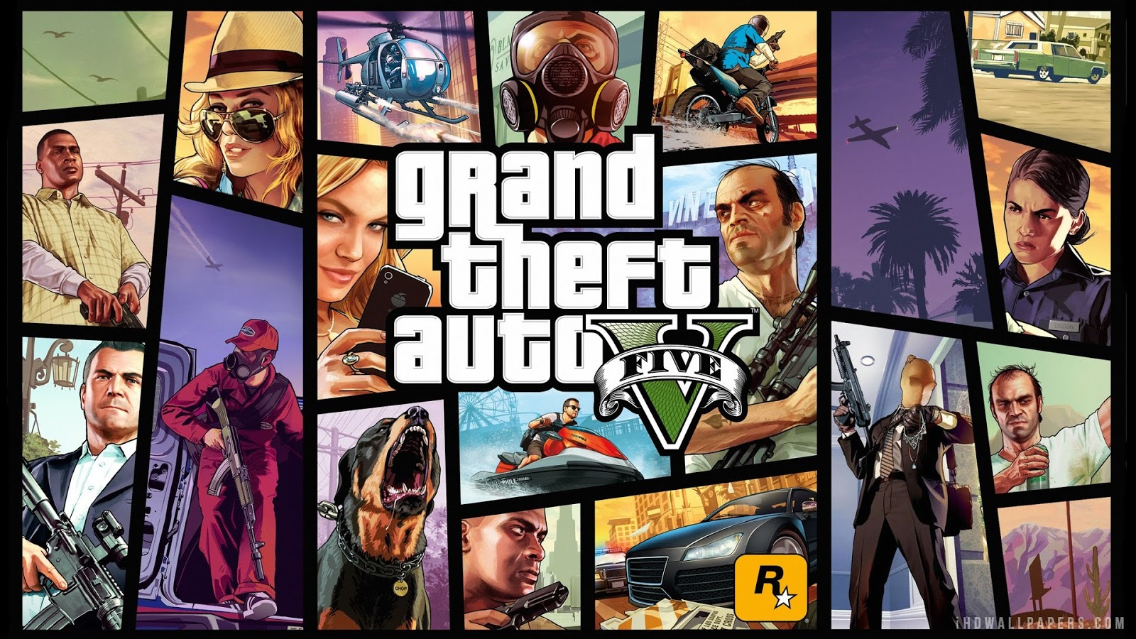 Grand Theft Auto 5 (GTA V) [Reloaded-Fixed] (1GB Parts - 62GB)