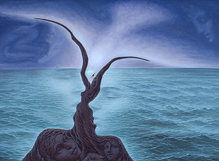 Beijo do Mar - Octavio Ocampo e Suas Pinturas Cheias de Ilusões