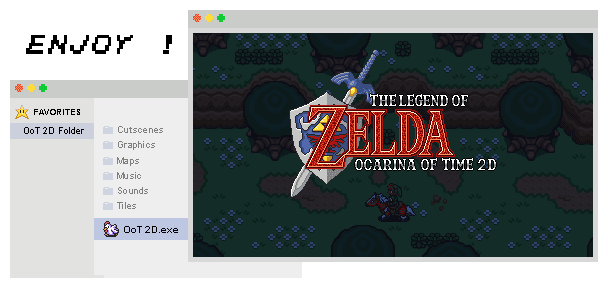 How to use OoT 2D