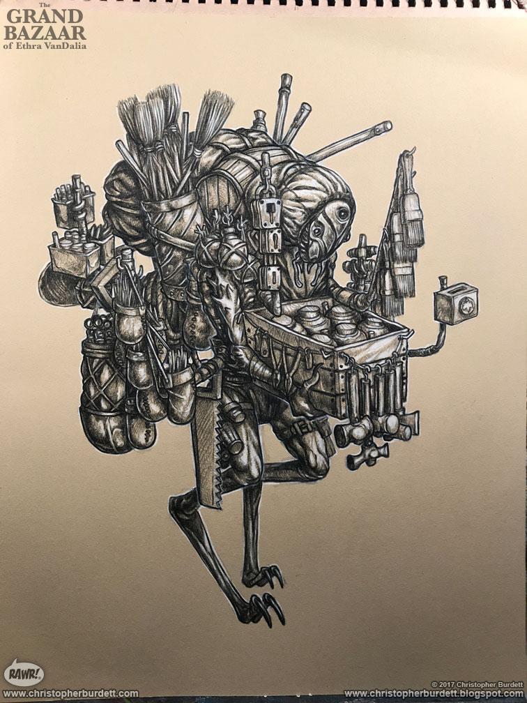 The doodles designs and art of christopher burdett - Quincaillerie paris 15 ...