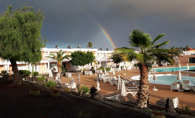 Bahia de Lobos Fuerteventura Room Outlook Rainbow