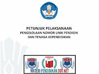 Download Juknis Pengelolaan NUPTK Terbaru Tahun 2019