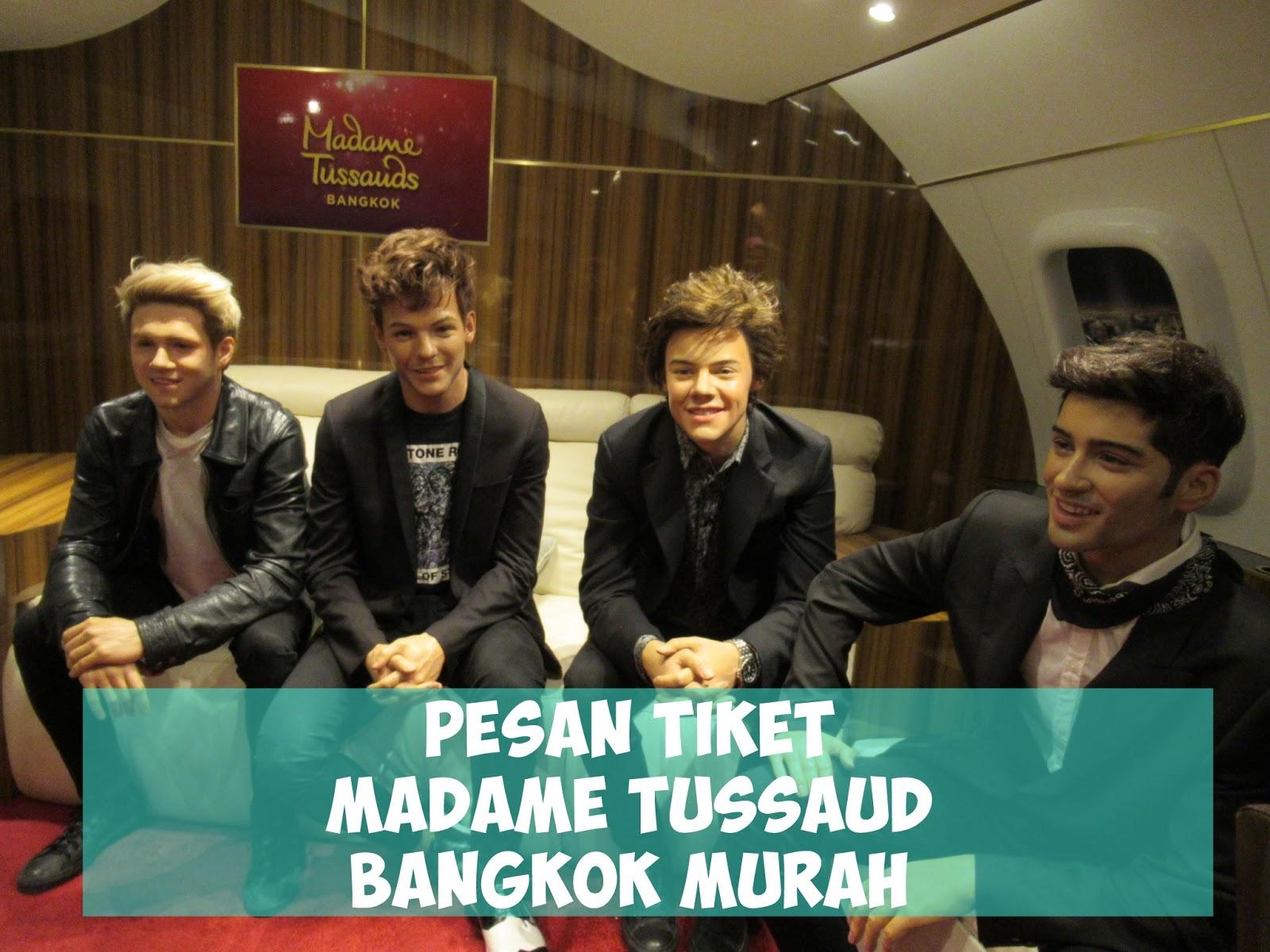 Daftar Harga Tiket Madame Tussauds Singapore Terbaru 2018 Snow City Atraksi Liburan Murah Bangkok Pattaya Huahin Asisten Jual Tussaud