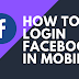 Facebook Login In Mobile Phone Fb