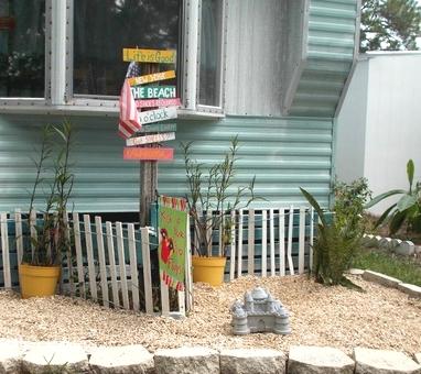 tall yard stake
