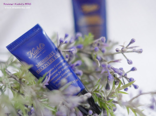 Mrs Delonika: Review: Kiehl's Midnight Recovery Eye
