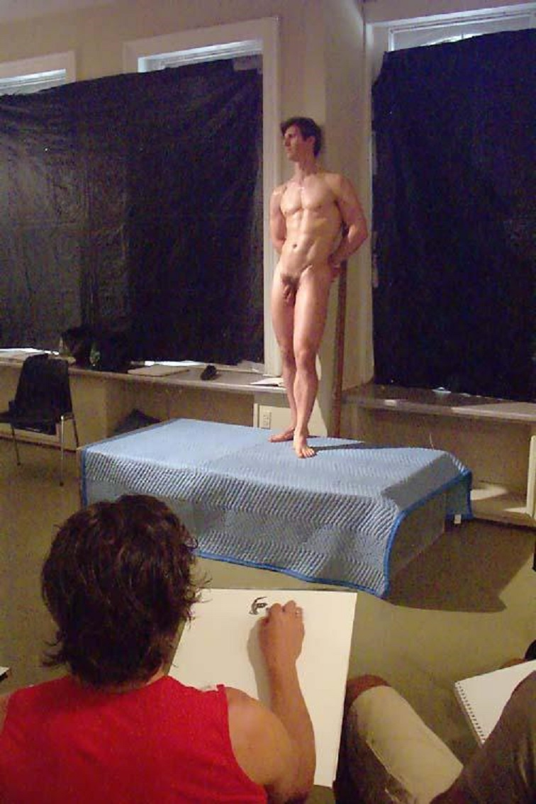 Have missed videos nude models posing art class this