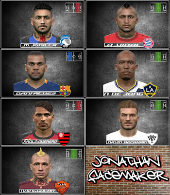 Neck Tattoo facepack PES 2016