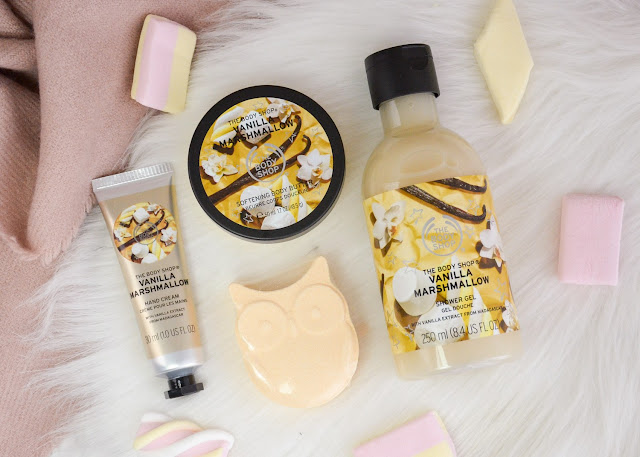 The Body Shop Vanilla Marshmallow Holiday Collection 2018