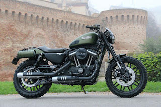 xl 1200 cx roadster tracker by hd jesi side right