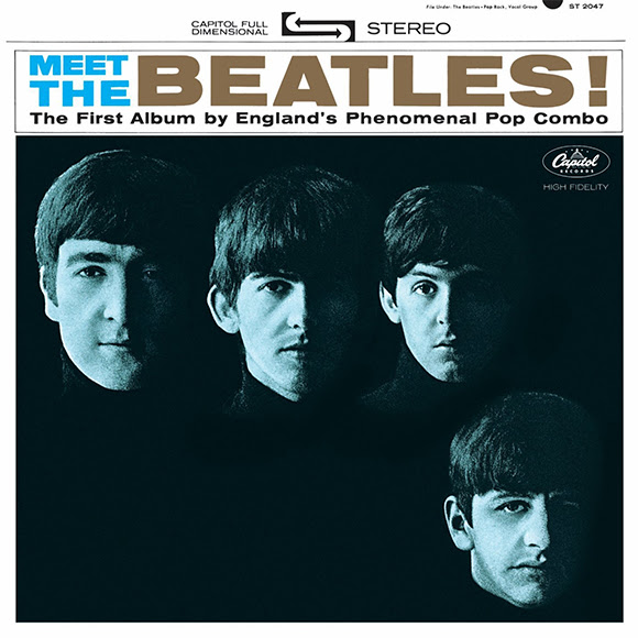 "<i>Meet the Beatles<span class=""fine"">&nbsp;</span>!</i>, premier album anarchique de Capitol Records"