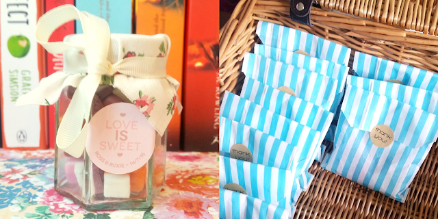 Wedding | DIY Personalised Sweet Jars Favours