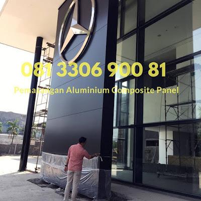Jual dan Pemasangan ACP Aluminium Composite Panel