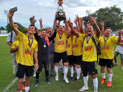 Viracopo vence Municipal de Futebol Veterano 2017 em Registro-SP
