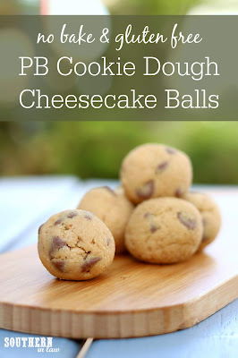 No Bake Cookie Dough Cheesecake Balls Recipe