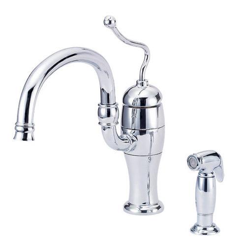 Single Handle Kitchen Faucet Removing Sprayer Hose Connectors