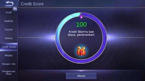 Wajib!! Ketahui Dulu Peraturan Credit Score Di Mobile Legends