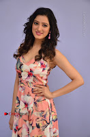 Actress Richa Panai Pos in Sleeveless Floral Long Dress at Rakshaka Batudu Movie Pre Release Function  0022.JPG