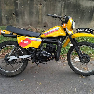 Forsale Classic Trail Suzuki TS100ER